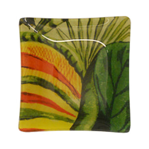 Tres Picos Glass Plate 5.5 inches square