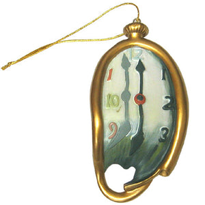 'Melting' Clock Ornament