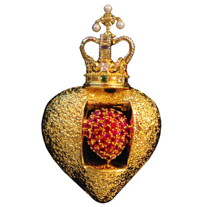Royal Heart Pin