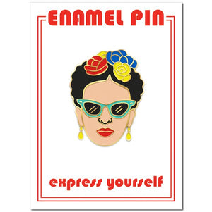 Frida Pin with Sunglasses