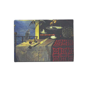 Nature Morte Vivante Canvas Magnet