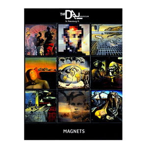 Dali Paintings Magnets - Set of 9