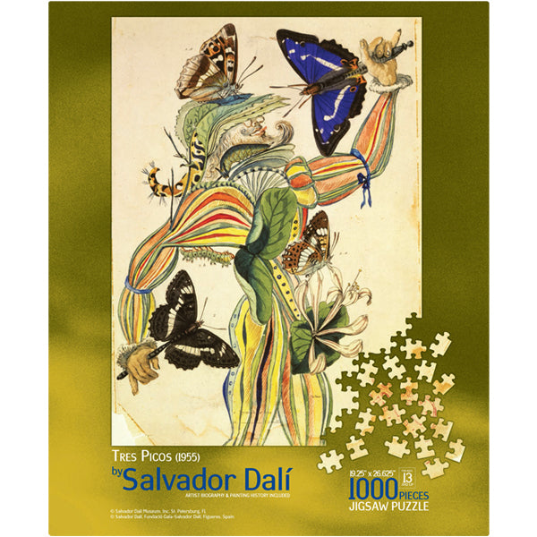 Tres Picos Jigsaw Puzzle The Dali Museum