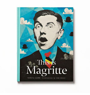 'This is Magritte' Hardcover Book
