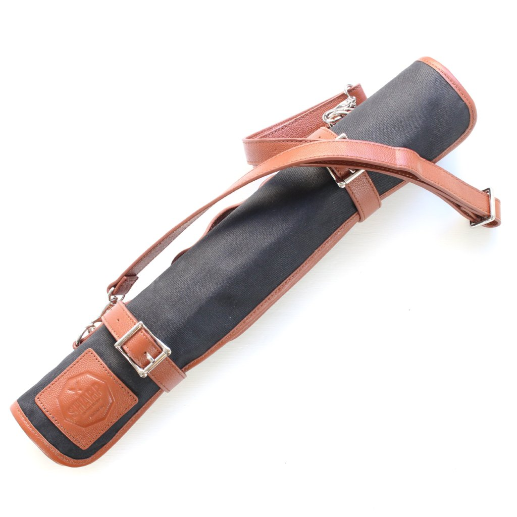 Waxed Canvas Knife Roll