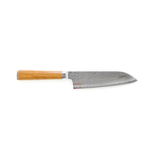 Load image into Gallery viewer, Ryusen Hamono Tanganryu Maple Santoku 170 mm