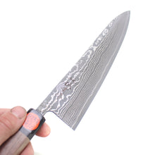 Load image into Gallery viewer, Shigeki Tanaka R2 Damascus Gyuto 240 mm