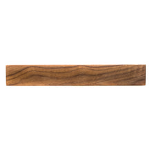 Load image into Gallery viewer, Walnut Magnetic Knife Rack Large