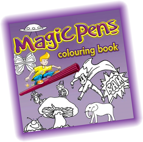 The Amazing Magic Pens Colouring Book Free Download