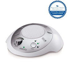 White Noise Sound Machine | Portable Sleep Therapy for Home , Office , Baby & Travel | 6 Relaxing & Soothing Nature Sounds , Battery or Adapter Charging Options , Auto-Off Timer | HoMedics Sound Spa