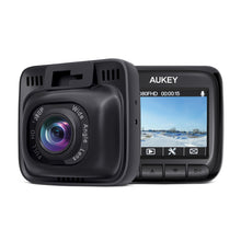AUKEY Dash Cam FHD 1080P Car Camera with Supercapacitor and 170 Degrees Wide Angle Dash Camera for Cars with 2 inches LCD, G-Sensor, Motion Detection and Dual-Port Car Charger