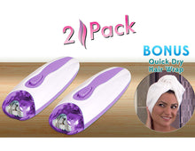 EpiSmooth 2 Pack w/ Bonus Quick Dry Hair Wrap Free! Epi Smooth Epilator As Seen on TV