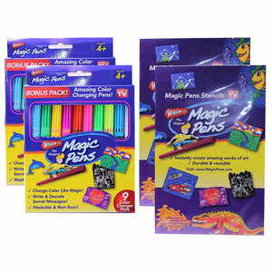 Magic Pens - Your AMAZING Markers That Create MAGICAL Works of Art!