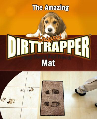 DirtTrapper - Doormat that STOPS DIRT at the door!