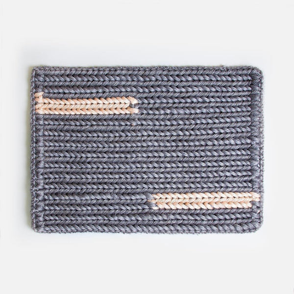 Braided Doormat - Grey