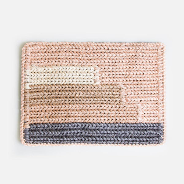 Braided Doormat - Guava