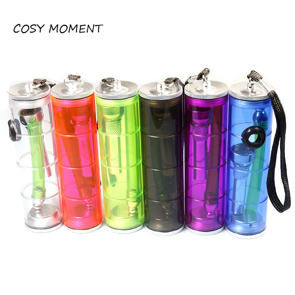 COSY MOMENT Mini Shisha Glass Smoking Tobacco Water Pipe