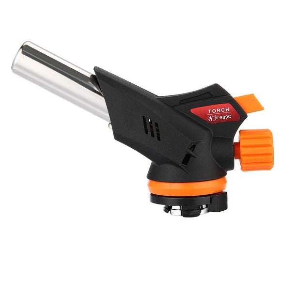 Torch Burner Flamethrower Butane Burn Auto Ignition Lighter Gun