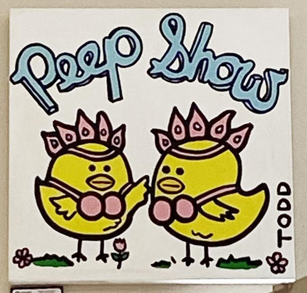 Peep Show original by Todd Goldman