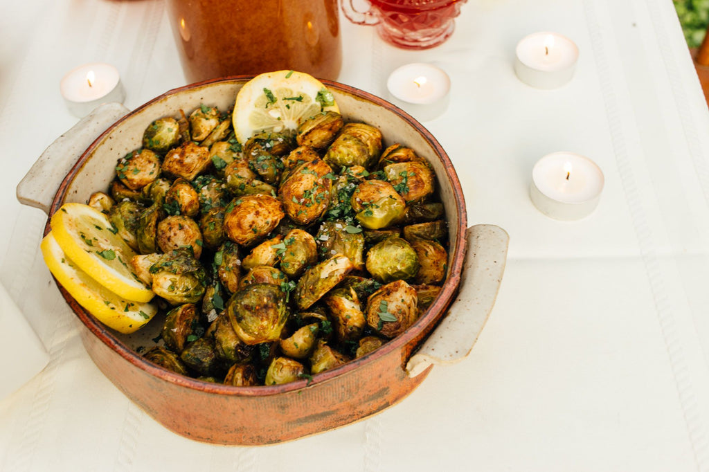 Spicewalla Berbere Roasted Brussels Sprouts