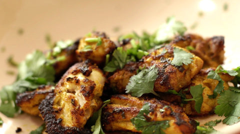 Garlic-Ginger Chicken from Indian-ish the cookbook and Spicewalla