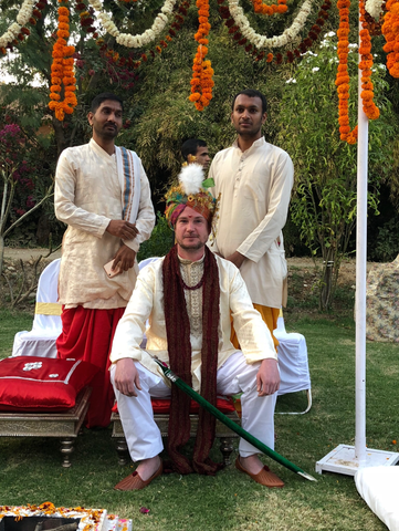 Matt Dawes in India