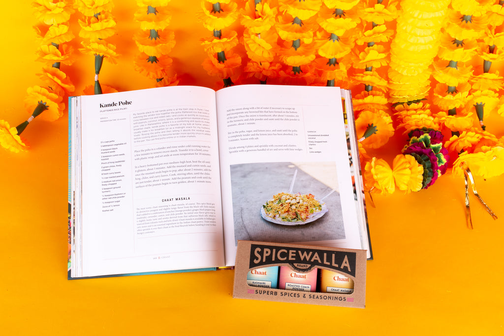 Chaat Collection 3 pack + Cookbook