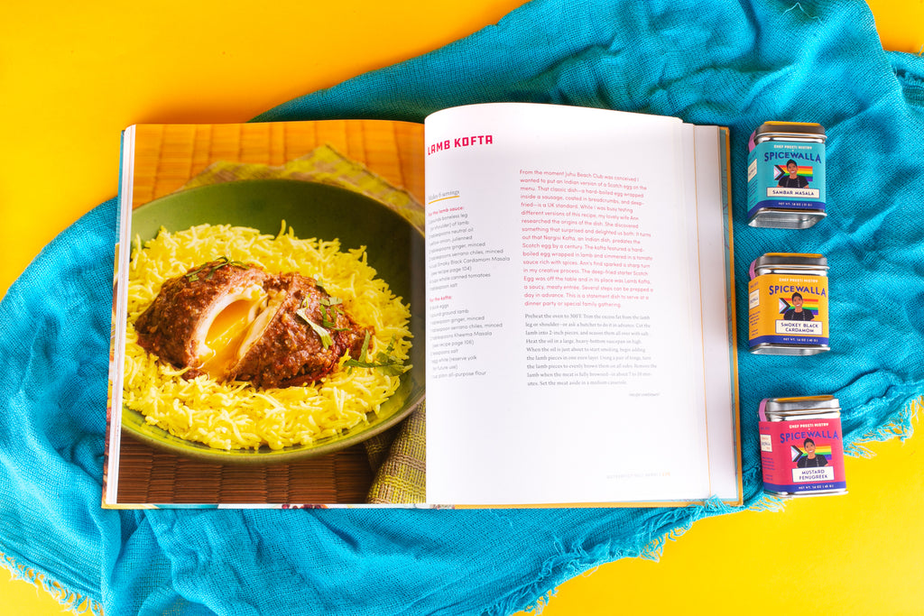 Juhu Beach Club Cookbook + Preeti Mistry 3 pack
