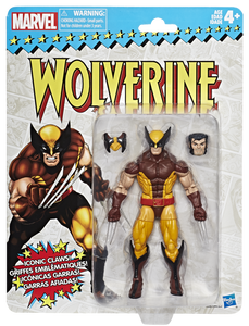 Marvel Legends Vintage Figures - Wolverine