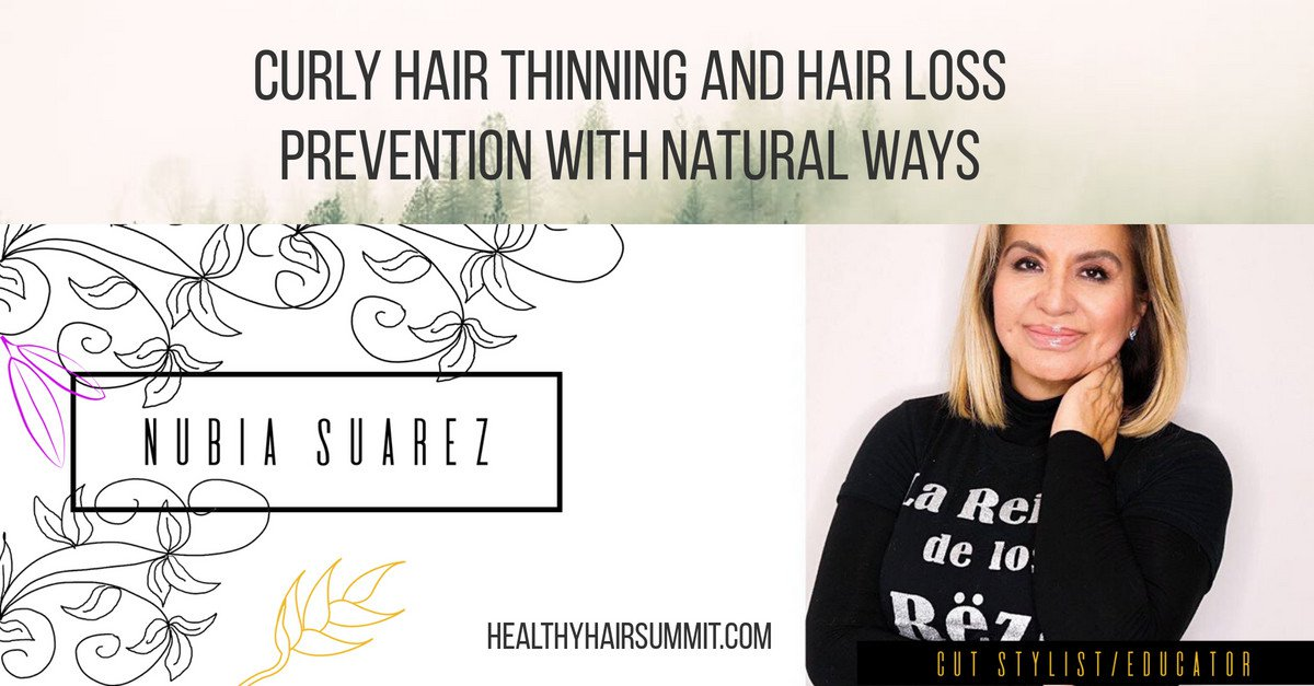 Curly Hair Thinning and Hair Loss Prevention with Natural Ways