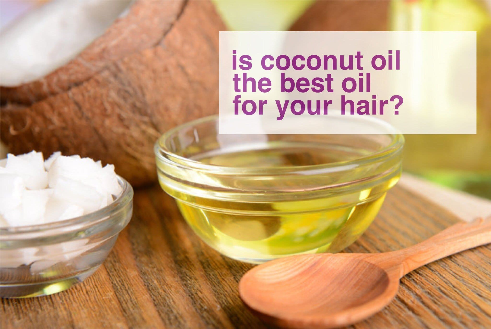 Coconut Oil: is it making your hair low porosity?