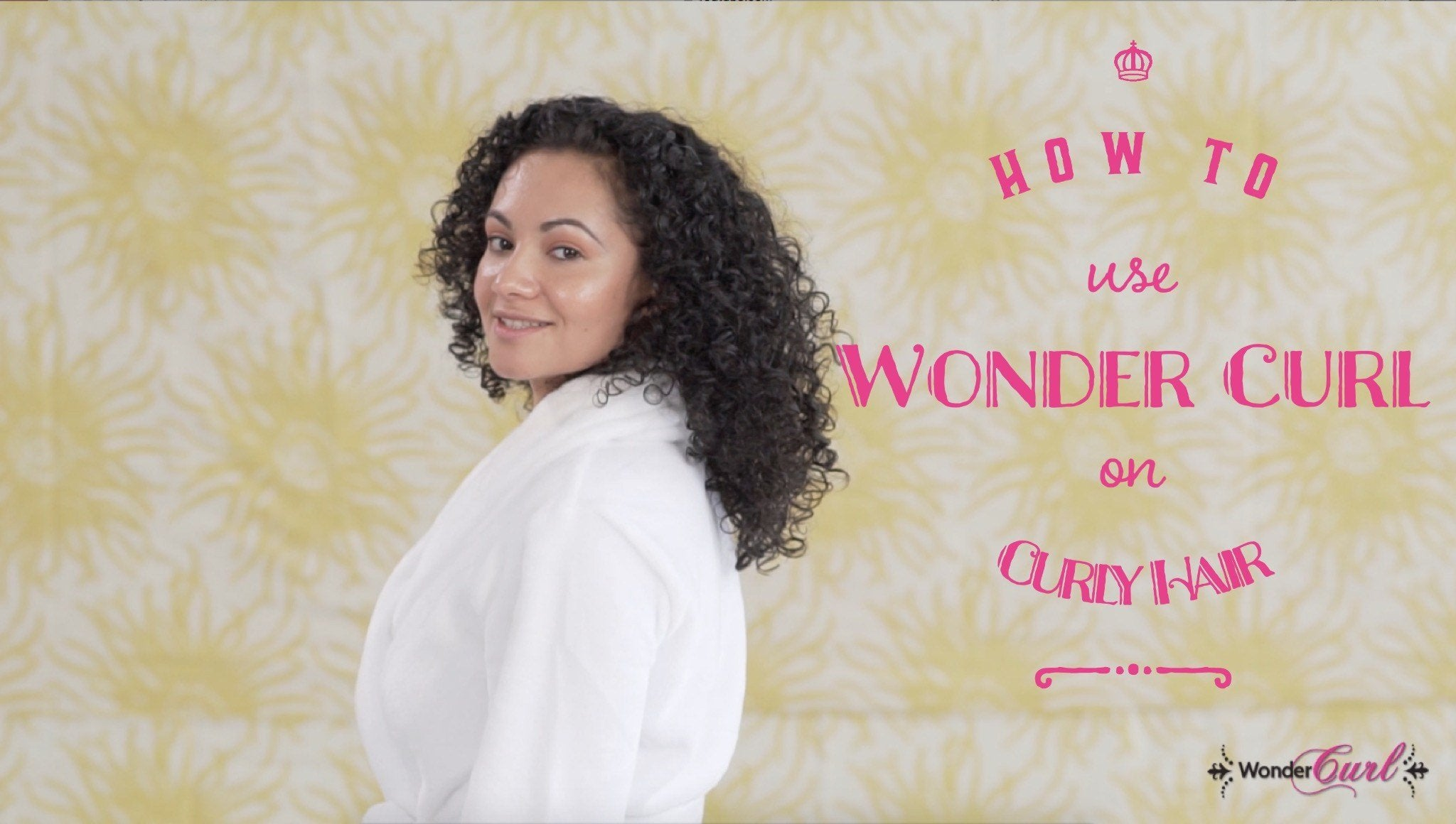How to use Wonder Curl natural hair products on curly hair