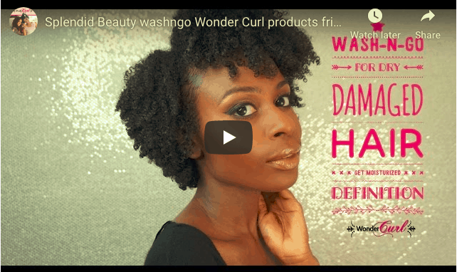 Wash-n-Go on Dry, Damaged Natural Hair