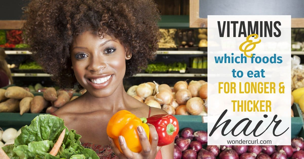 What Hair Vitamins are best for longer and thicker hair