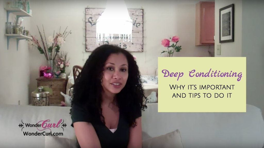 How to Deep Condition your Natural Hair for Ultimate Moisture.