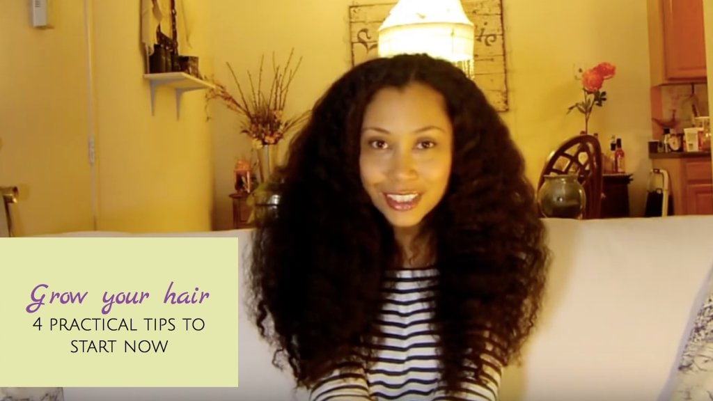 5 Tips to Help You Grow Long, Strong Hair