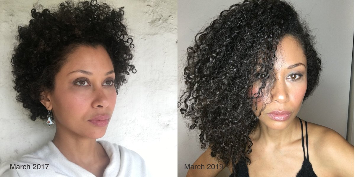 How I grew my natural hair so fast on a plant-based diet.