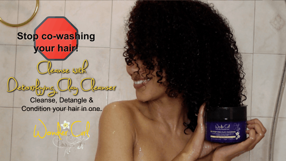 Guide to Co-washing natural hair