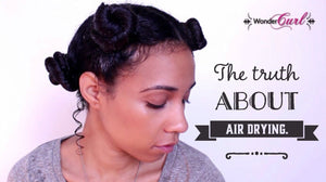 Is air-drying the healthiest way to dry your hair?