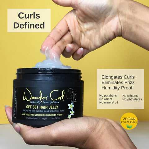 Get Set Hair Jelly for defined curls
