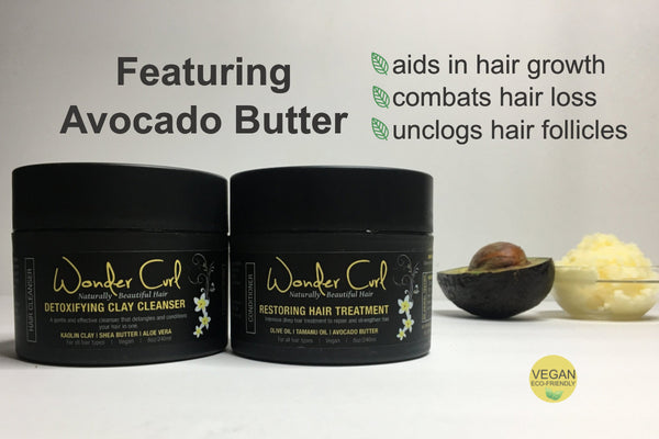 Detoxifying Clay Cleanser and Restoring Hair Treatment for healthy scalp and hair