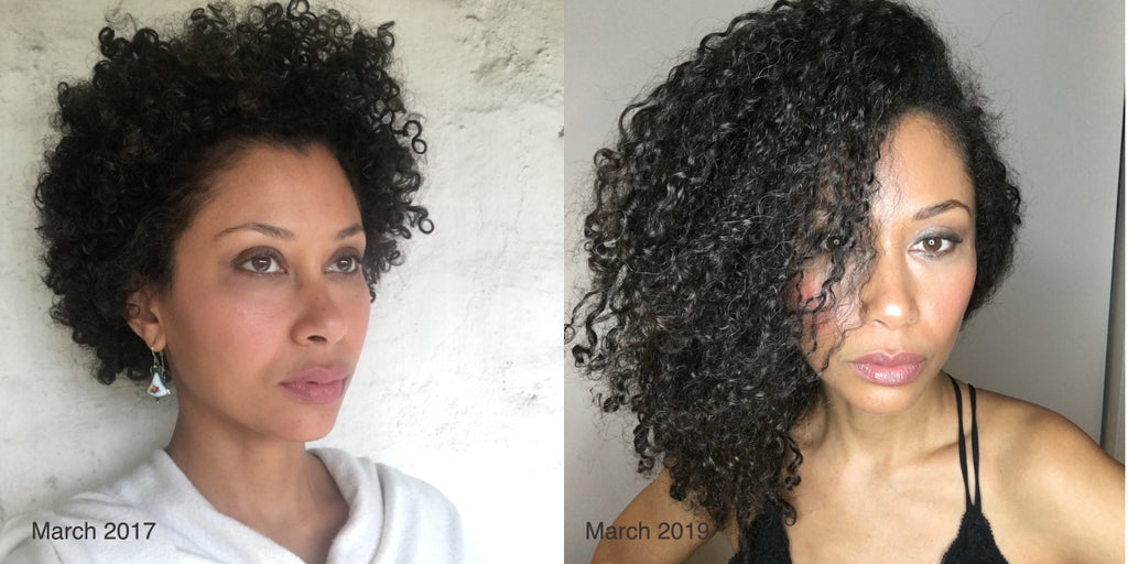 Want to grow your natural hair long and healthy? Try a plant-based diet.