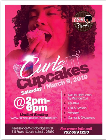 curls and cupcakes natural hair event for curly hair