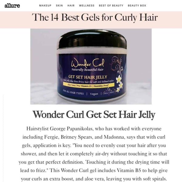 Get Set Hair JellyWonder Curl