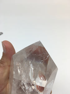 Clear Crystal Single-Terminated Point - Trans-Channeler - CCGP7