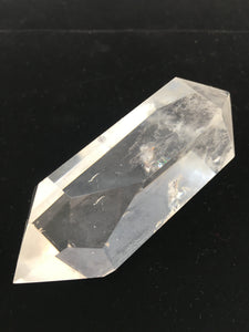 Clear Crystal Double-terminated Point - Isis - Window - Rainbows - CCDP-33