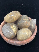 Rutilated Quartz Tumbled Stones (5) Five