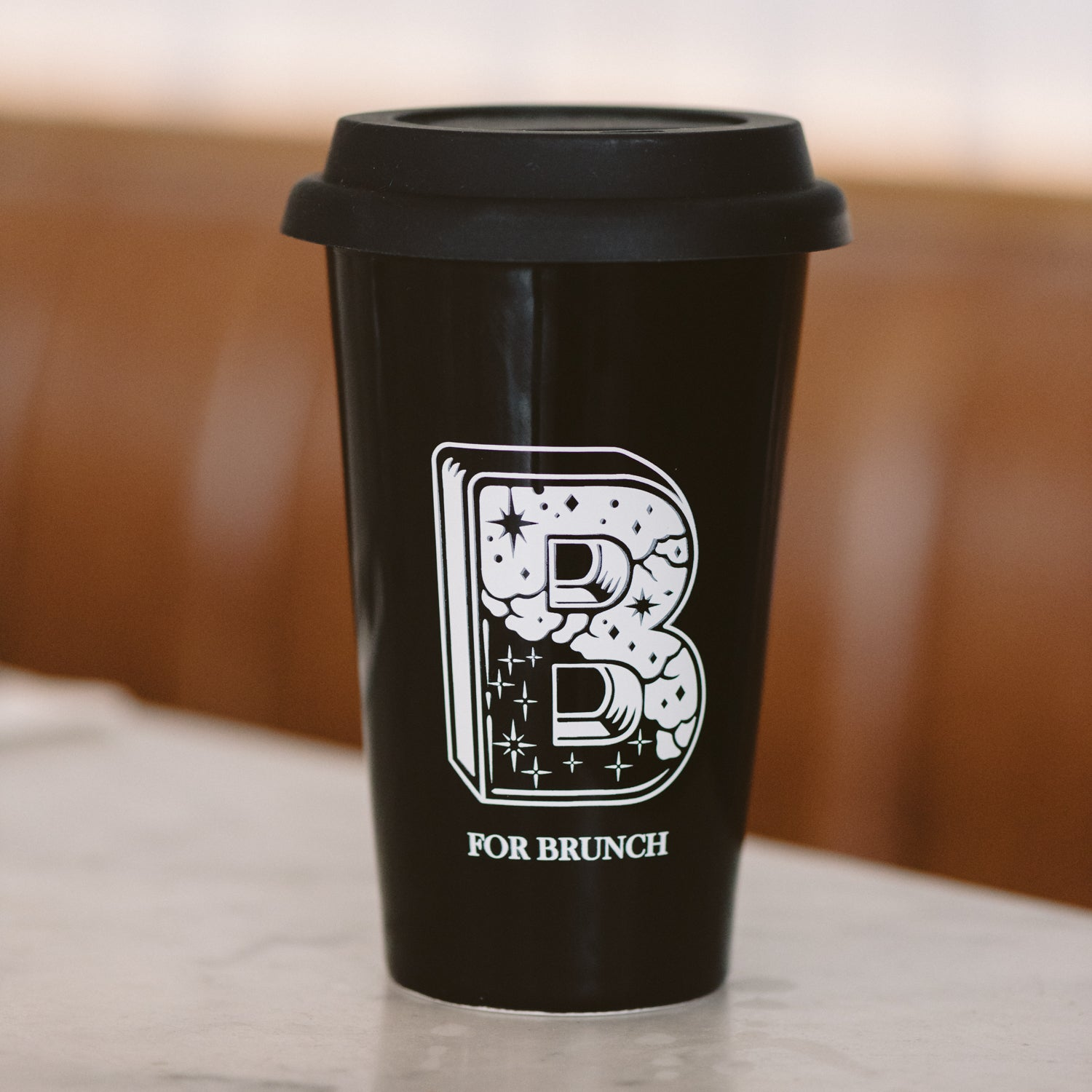 Bocata ceramic traveler mug