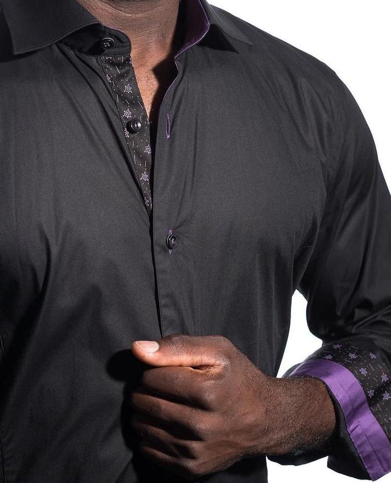 LUXURY MEN'S SHIRTS - BLACK