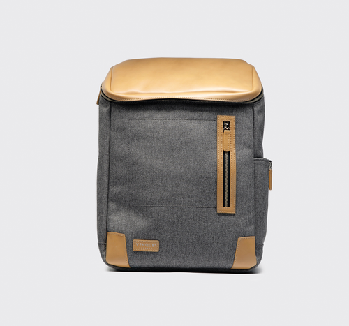 TAN AND GREY AMSTERDAM - BACKPACK